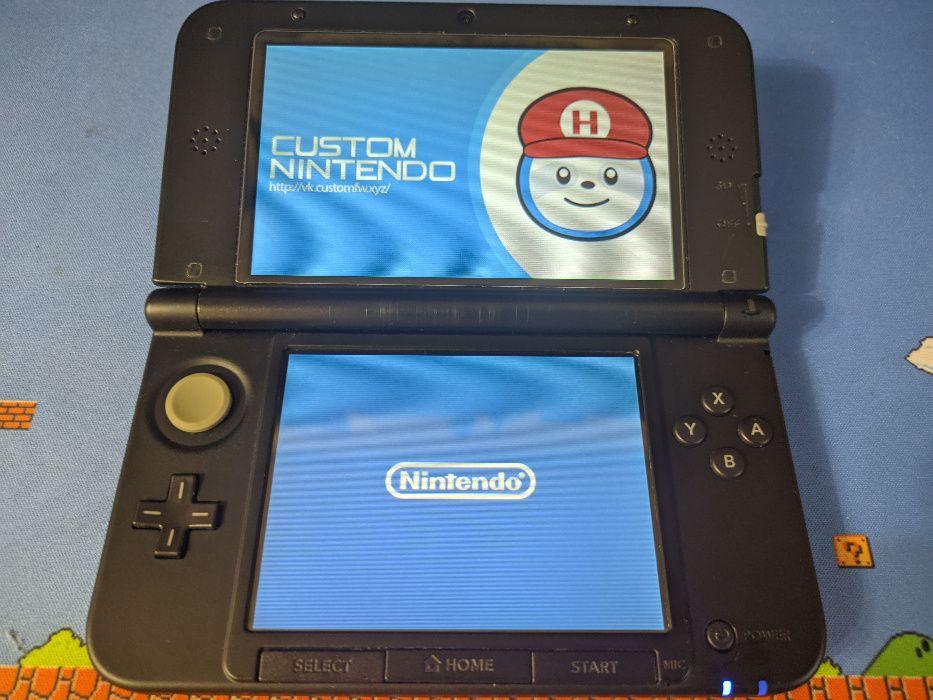 Nintendo 3ds xl, прошитая, европейка, игры бесплатно, 4Гб Дружковка - изображение 1