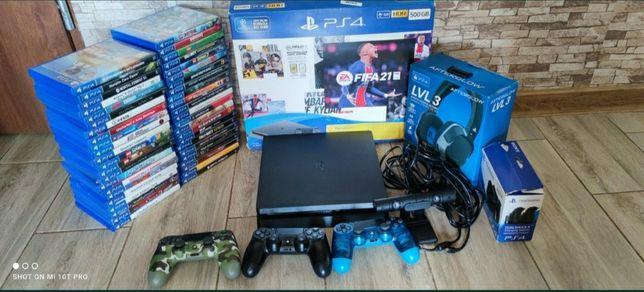 Konsola PlayStation 4 Slim PS4 Pady Gry Zamiana Xbox 360 PS3