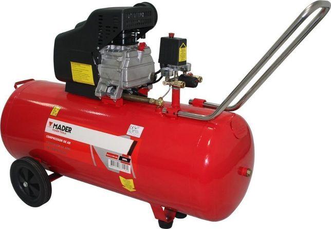 Compressor de Ar 100L Monobloco - 2.0Hp - Sem Correia - MADER®