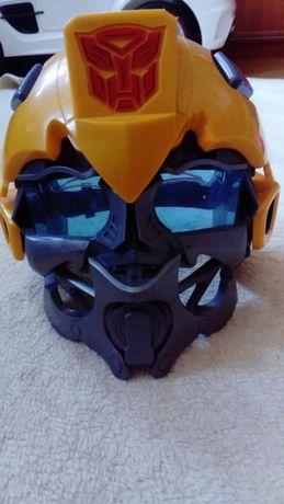 Maska transformers bumble bee z dźwiękiem