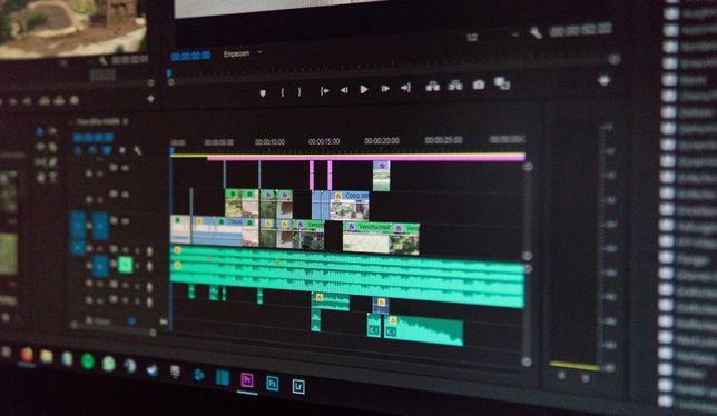 Montaż video/filmów klipów, reklam , vlogów