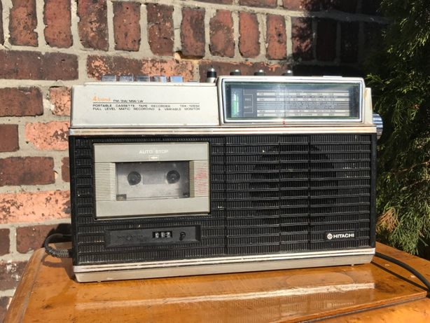 Radiomagnetofon model TRK - 1265E / sprzęt z epoki / PRL