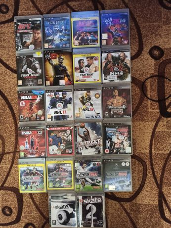 Диск SonyPs3 Mortal.Lego.Tekken.Nfs.Gta.Fifa.Metro.Pes.Mafia.FarCry