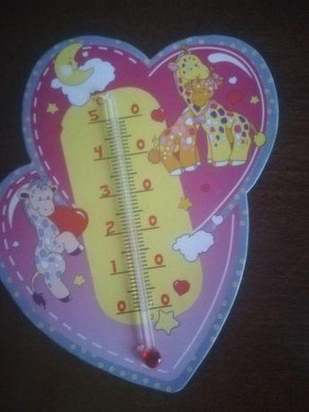 Термометр детский (водный, комнатный)
