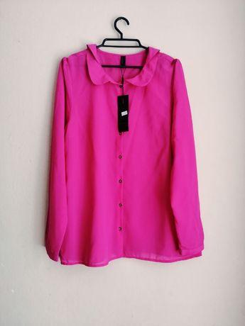 Różowa koszula mgiełka 42 Vero Moda