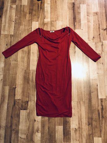 Seksowna czerwona sukienka TIFFI