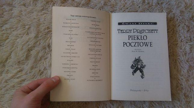 Piekło pocztowe - Terry Pratchett - Świat Dysku, fantasy, magia