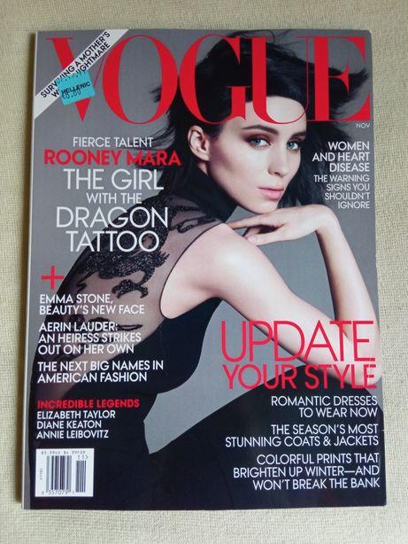 Vogue US Rooney Mara moda po angielsku angielski