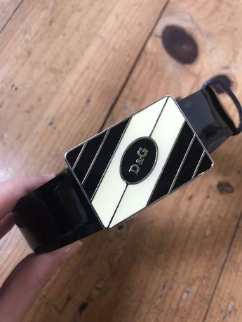 Cinto de Homem Dolce & Gabbana Original preto. Tamanho 90-95