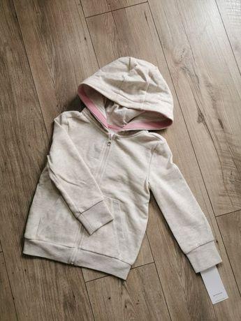 Nowa rozpinana bluza dziewczęca Reserved 110