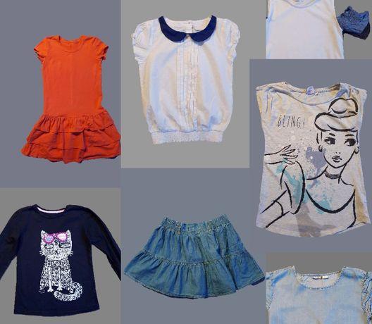 Ubrania dla dziewczynki, rozmiar 140/146