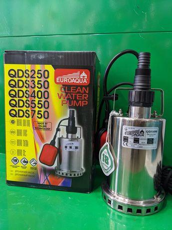 Насос дренажный нержавейка QDS 400