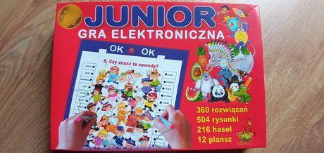 Wiem wszystko Junior gra edukacyjna elektroniczna 5+