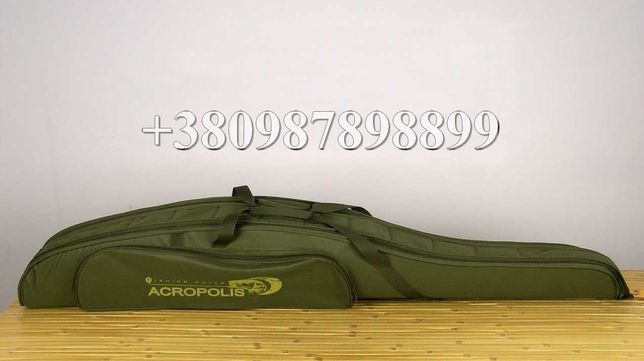 Жесткий чехол для удилищ Acropolis КВ-11а чехол для спиннинга с катушк