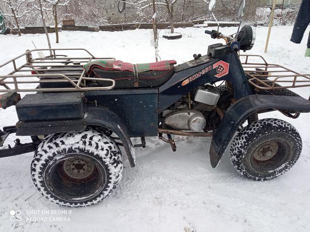 Продам мiнi трактор сцепка  э