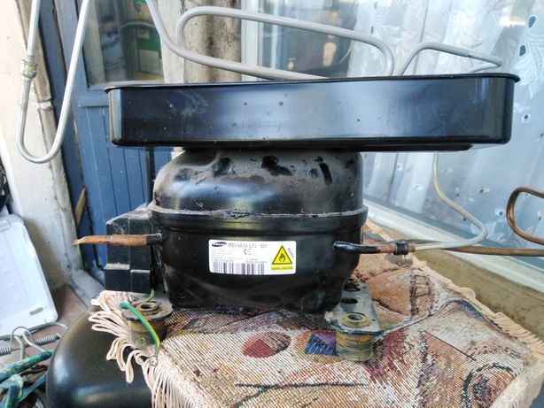 Мотор и плата холодильник Samsung модель RL48RRCMG