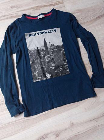 152 modna bluzka chłopięca z długim rękawem