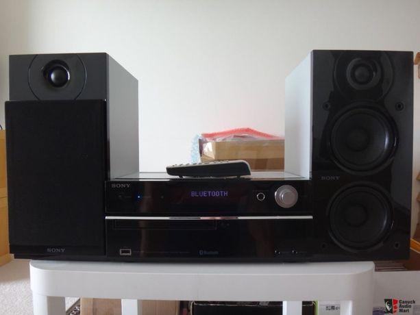 Sony CMT-HX5BT mikrowieża CD MP3 USB Bluetooth/pilot