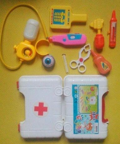 Детский игровой набор - юный медик доктор лечение больных от вируса