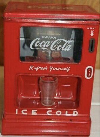 Coca cola. USA. Vending.