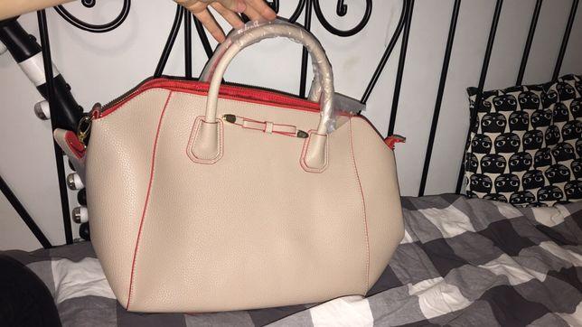 torba torebka różowa