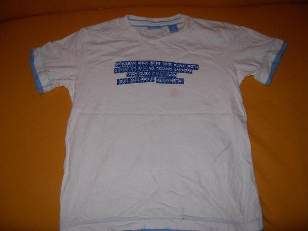 T'shirt Branca Skanaban Dept 6/7 anos + Polo BTS verde 6 anos