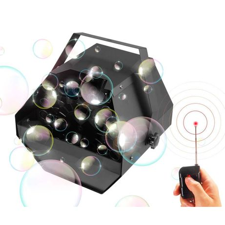 Новый генератор мыльных пузырей Big BL001+RADIO REMOTE