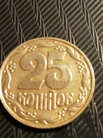 Продам монету 25 копеек 1992 года
