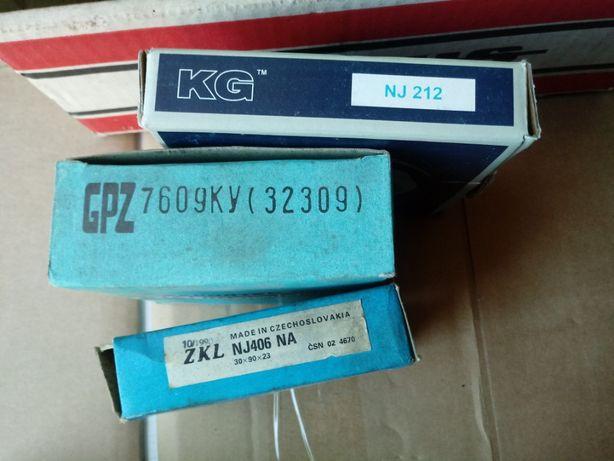 Łożysko NJ406 do kolekcji walcowe jednorzędowe 30x90x23 PRL