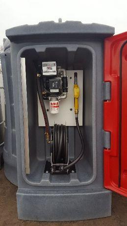 Zbiornik na olej napędowy 2500 l ZWIJADŁO raty AMAX ON
