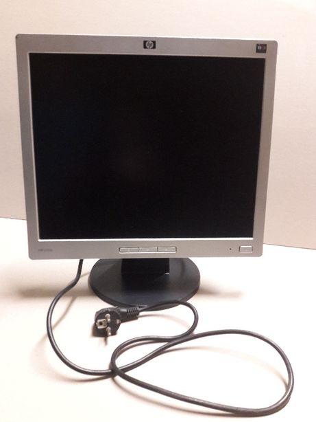 Monitor z szarą obudową HP