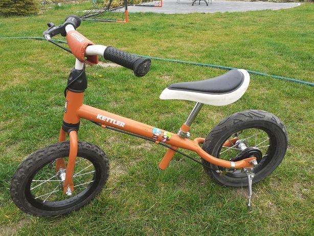 Rowerek biegowy Kettler + kask