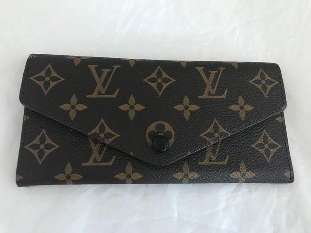 Louis Vuitton skórzany BRĄZ monogram SKÓRA