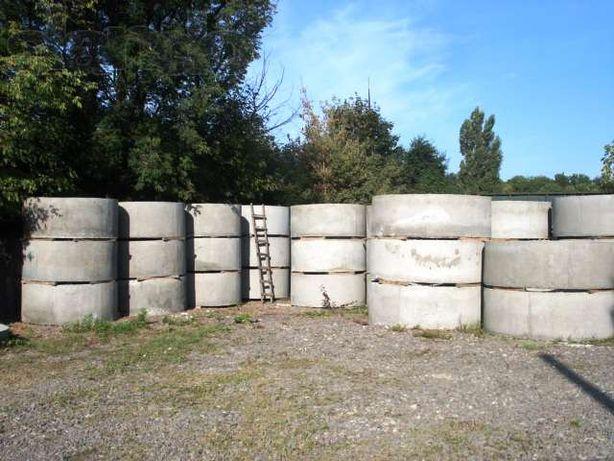 Бетонні кільця для каналізації