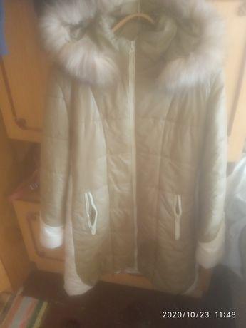 Зимнее пальто удлиненное