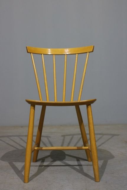 Cadeira Poul M. Volther modelo J46 em faia | Mobiliário Vintage