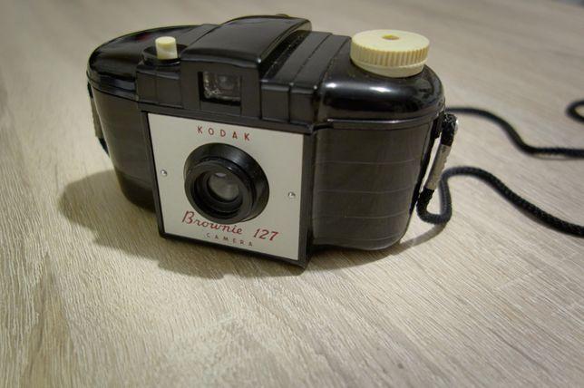 Aparat fotograficzny Kodak Brownie 127, unikat.