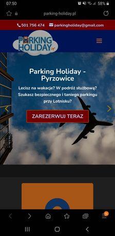 Parking Holiday lotnisko Pyrzowice Katowice