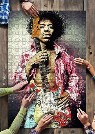 Puzzle George Michael Whitney Houston Sting AC/DC Hendrix MONROE