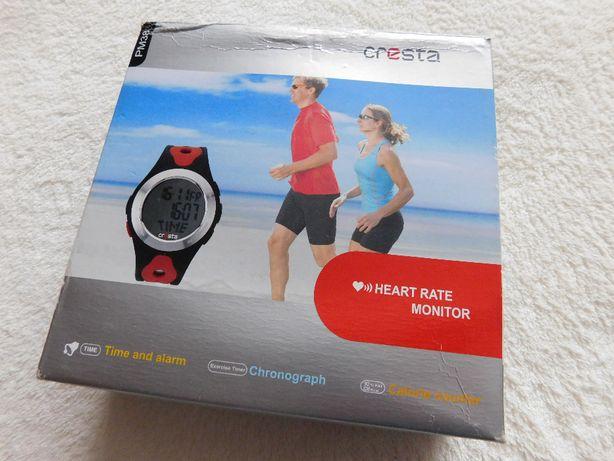 Nowy super zegarek Cresta z pomiarem tętna, licznikiem kalorii itp.