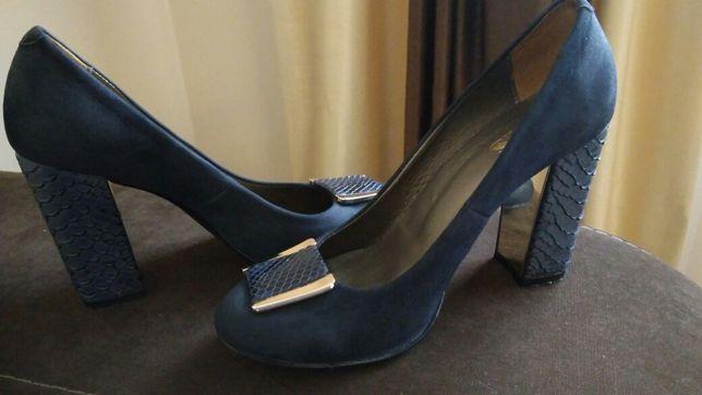 Туфли нат.замш, Avis, 37