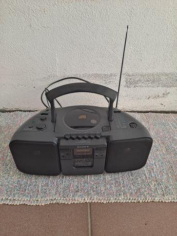 Rádio cd e cassetes