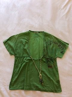Blusa verde tamanho S da Salsa