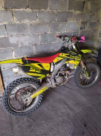 Honda crf 250 45 godzin po remoncie w lobo moto