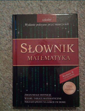 Słownik Repetytorium Matematyka Greg idealne do powtórek przed maturą