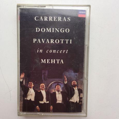 Аудіо касети Pavarotti Carreras Domingo ретро класика