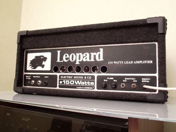Potężna wzmacniacz gitarowy - lampowy 4 x EL34 - LEOPARD - 150Wat