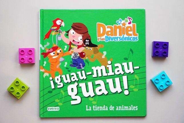 Daniel y los diversónicos - książeczka hiszpańska