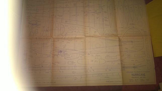 План Пилотажная модель Harrigane Размах 930 мм Мотор 2,5 см3 1:12,5