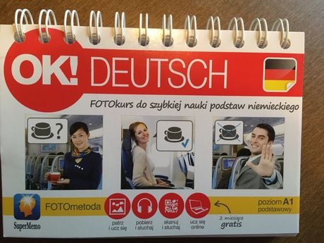 Ok! Deutsch Fotokurs do szybkiej nauki jęz. niem+ kod do pobrania mp3